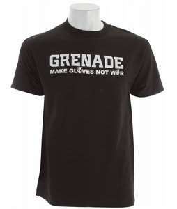 Grenade Make Snowboard Gloves T-Shirt Black