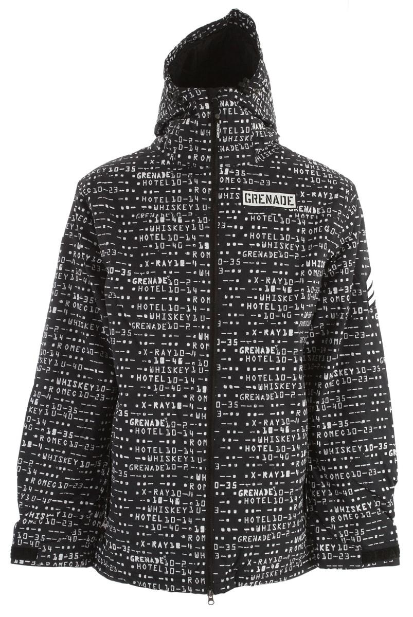Shop for Grenade Matrix Snowboard Jacket Black - Men's