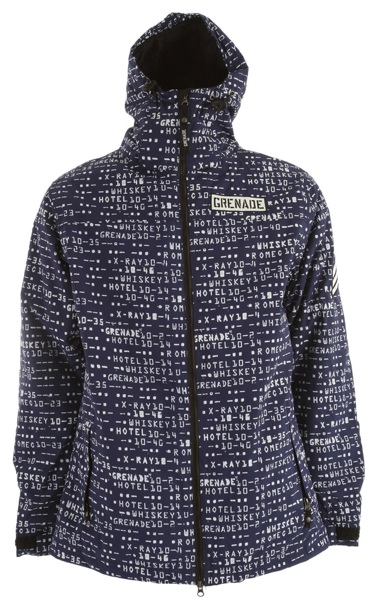 Shop for Grenade Matrix Snowboard Jacket Blue - Men's