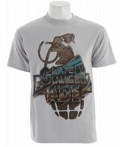 Grenade Maxed Out T-Shirt Gray