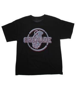 Grenade Metal Mark T-Shirt Black