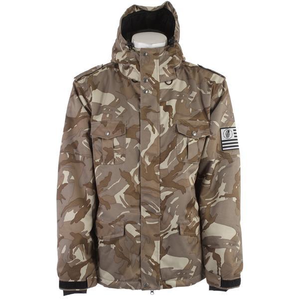 Grenade Military Parka Snowboard Jacket