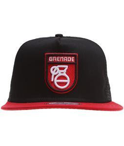 Grenade Mod Logo Cap Red
