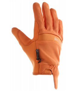 Grenade Murdered Out Gloves Orange