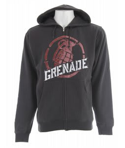Grenade Nademark Zip Hoodie Grey