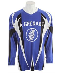 Grenade No Match BMX Jersey Blue