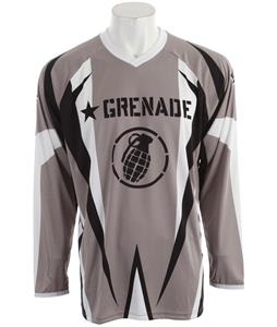 Grenade No Match BMX Jersey Gray