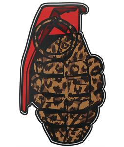 Grenade Patterns Sticker