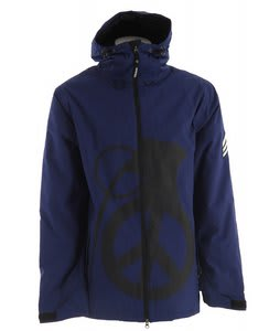 Grenade Peace Bomb Snowboard Jacket Blue/Black