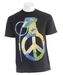 Grenade Peace Bomb T-Shirt Black