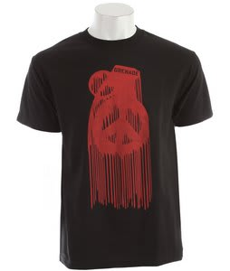 Grenade Peace Drip T-Shirt Black