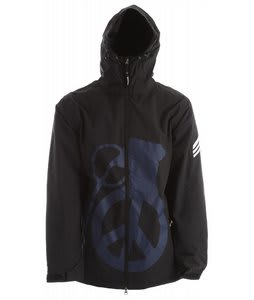 Grenade Peace Bomb Snowboard Jacket Black/Blue