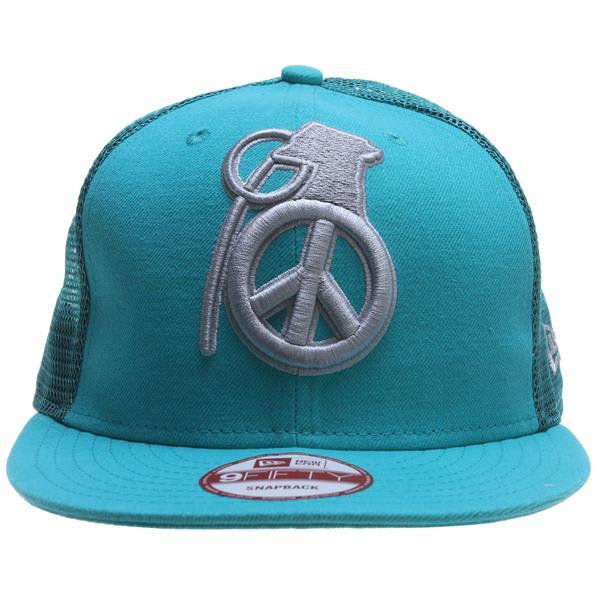 Grenade Peace Bomb Mesh Cap