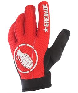 Grenade Pin It Two BMX Gloves Red