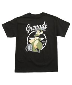Grenade Pin Up T-Shirt Black