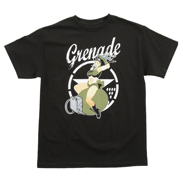 Grenade Pin Up T-Shirt