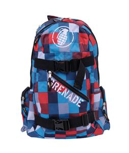 Grenade Plaid Backpack
