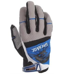Grenade Primo BMX Gloves Gray