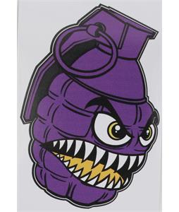 Grenade Printed Chomper Sticker