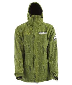 Grenade Riot Code Snowboard Jacket Slime