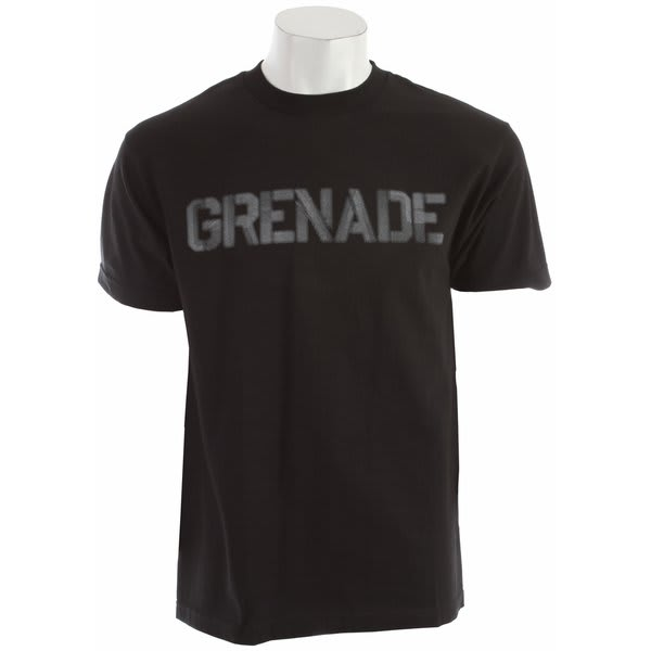 Grenade Riot Word T-Shirt
