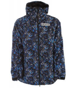 Grenade Shrapnel Snowboard Jacket Blue/Gray