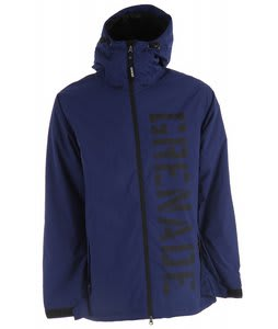 Grenade Shrapnel Snowboard Jacket Blue