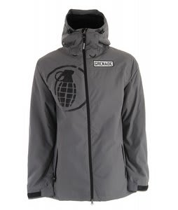 Grenade Shrapnel Snowboard Jacket Gray