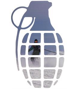 Grenade Shred Dog Sticker