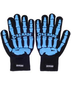 Grenade Skeleton Gloves Aqua