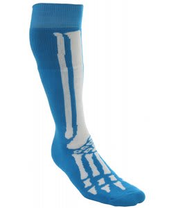 Grenade Skeleton Socks Blue