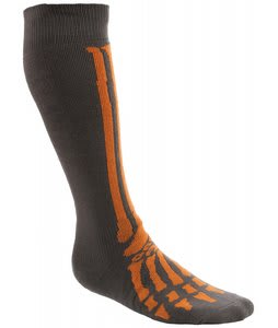 Grenade Skeleton Socks Gray