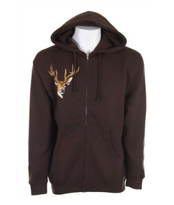 Grenade Skelter Zip Hoodie Tagged Bagged Brown