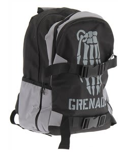 Grenade Skull Bomb Backpack Black