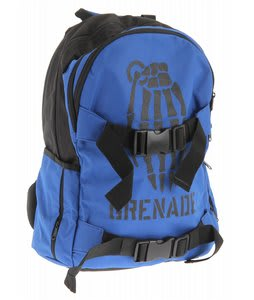Grenade Skull Bomb Backpack Blue