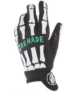 Grenade Skullshred 2 Bike Gloves Black/Teal