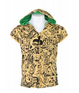 Grenade Sleeveless Hoodie Yellow