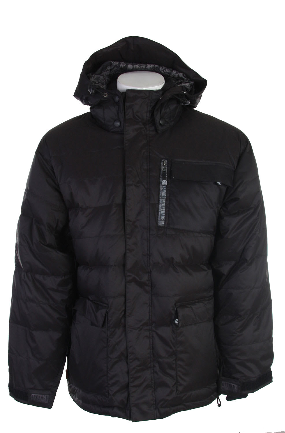 Shop for Grenade Southface Snowboard Jacket Black - Men's