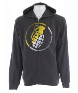 Grenade Split Vibes Zip Hoodie Grey
