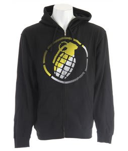 Grenade Split Vibes Zip Hoodie Black