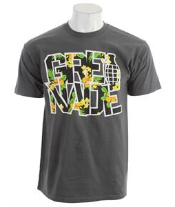 Grenade Stacked Pineapple T-Shirt Charcoal