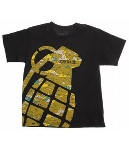 Grenade Stamp T-Shirt Black/Camo