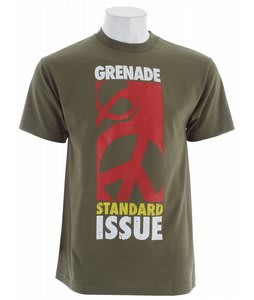 Grenade Standard Peace T-Shirt Army