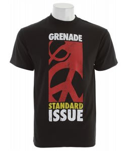 Grenade Standard Peace T-Shirt Black