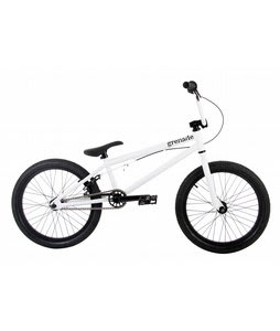 Grenade Stealth BMX Bike Matte White 20