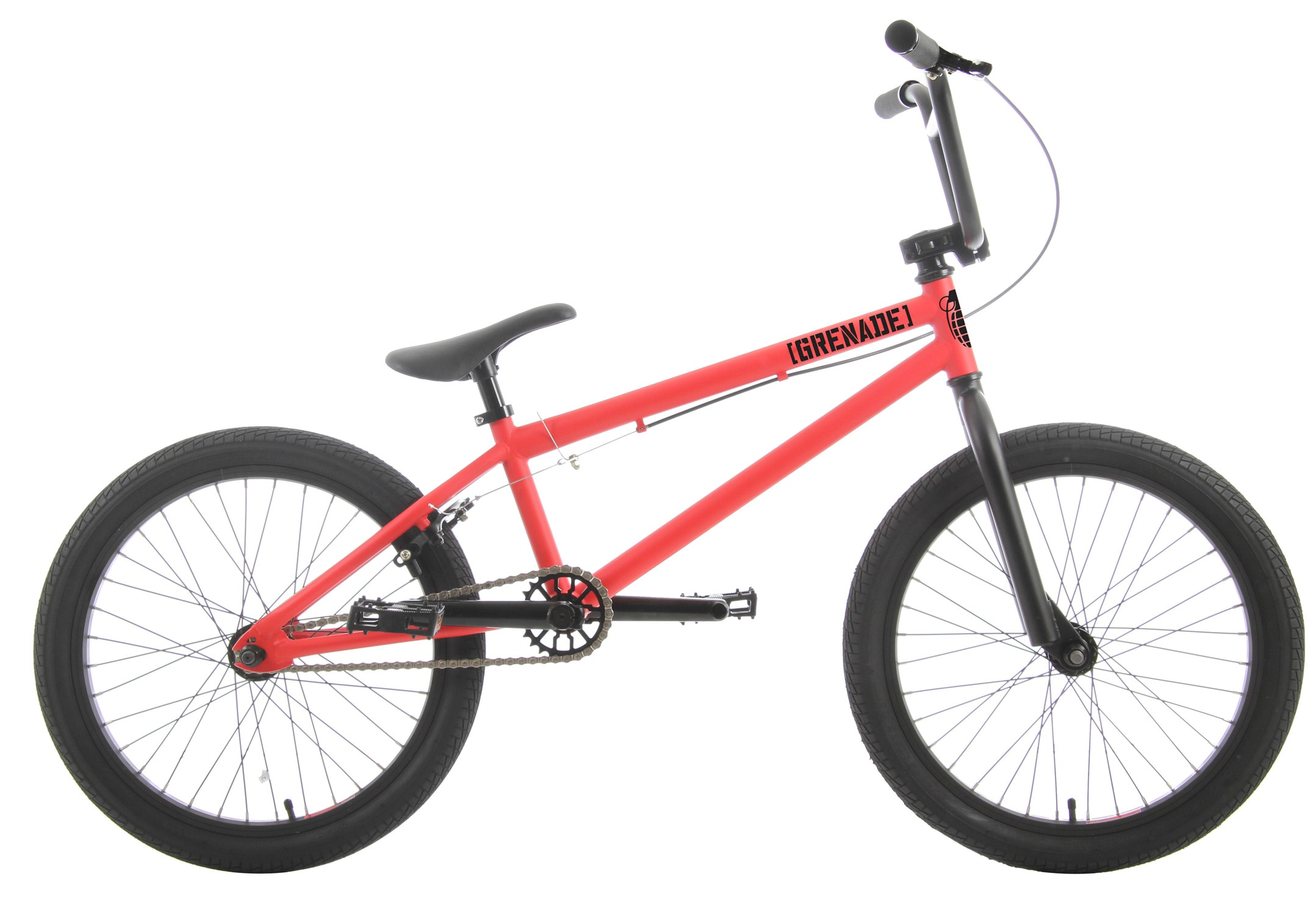 Shop for Grenade Stealth BMX Bike 20&quot; Fire Red/Black