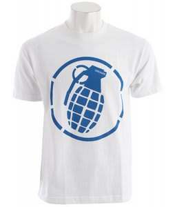 Grenade Stenz T-Shirt White