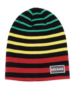 Grenade Striped Beanie