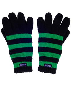 Grenade Stripes Gloves Green