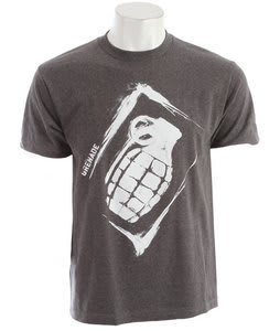 Grenade Sullen Stencil T-Shirt Charcoal